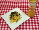 「トマトとはちみつのサウザンドレッシング」で作る冷製明太子(タラコ)パスタ